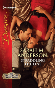 Straddling the Line by Sarah M. Anderson