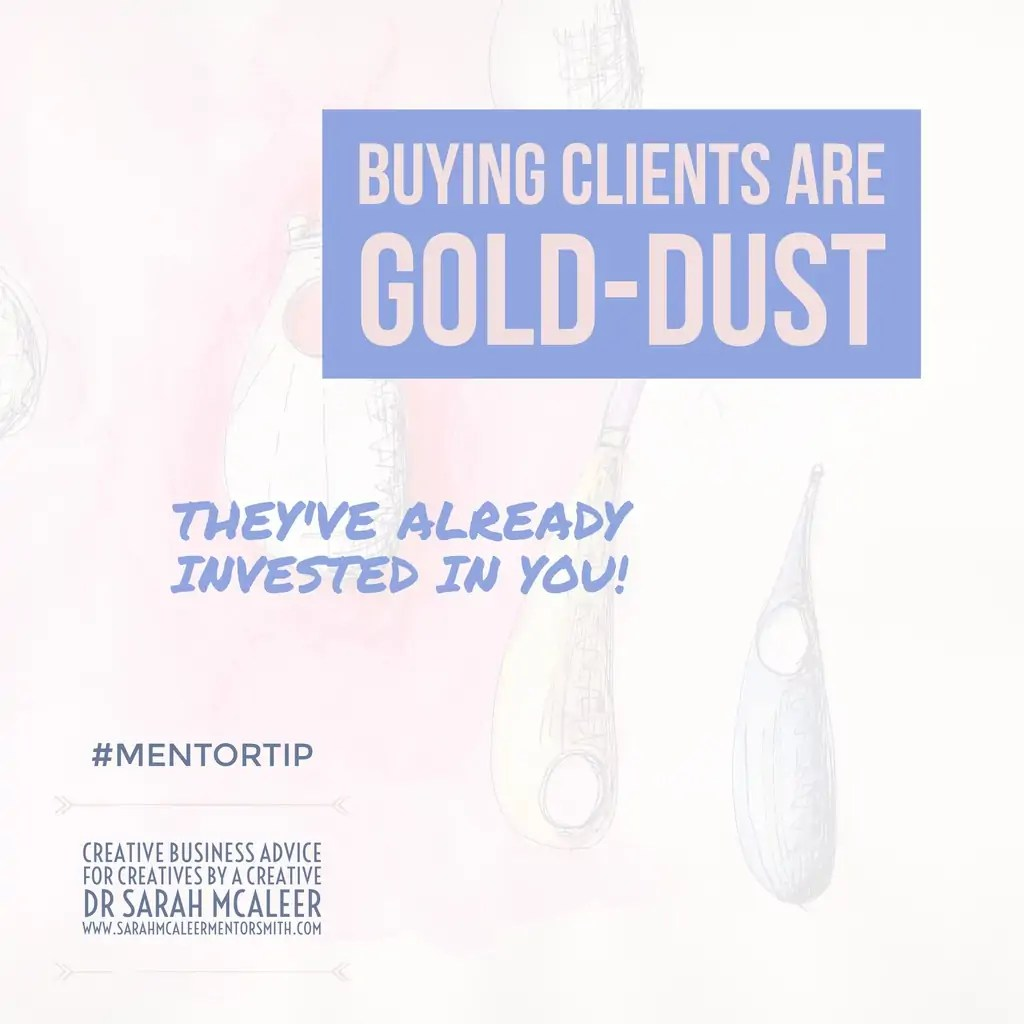 Buying Clients Are Gold-Dust | Sarah McAleer Mentorsmith