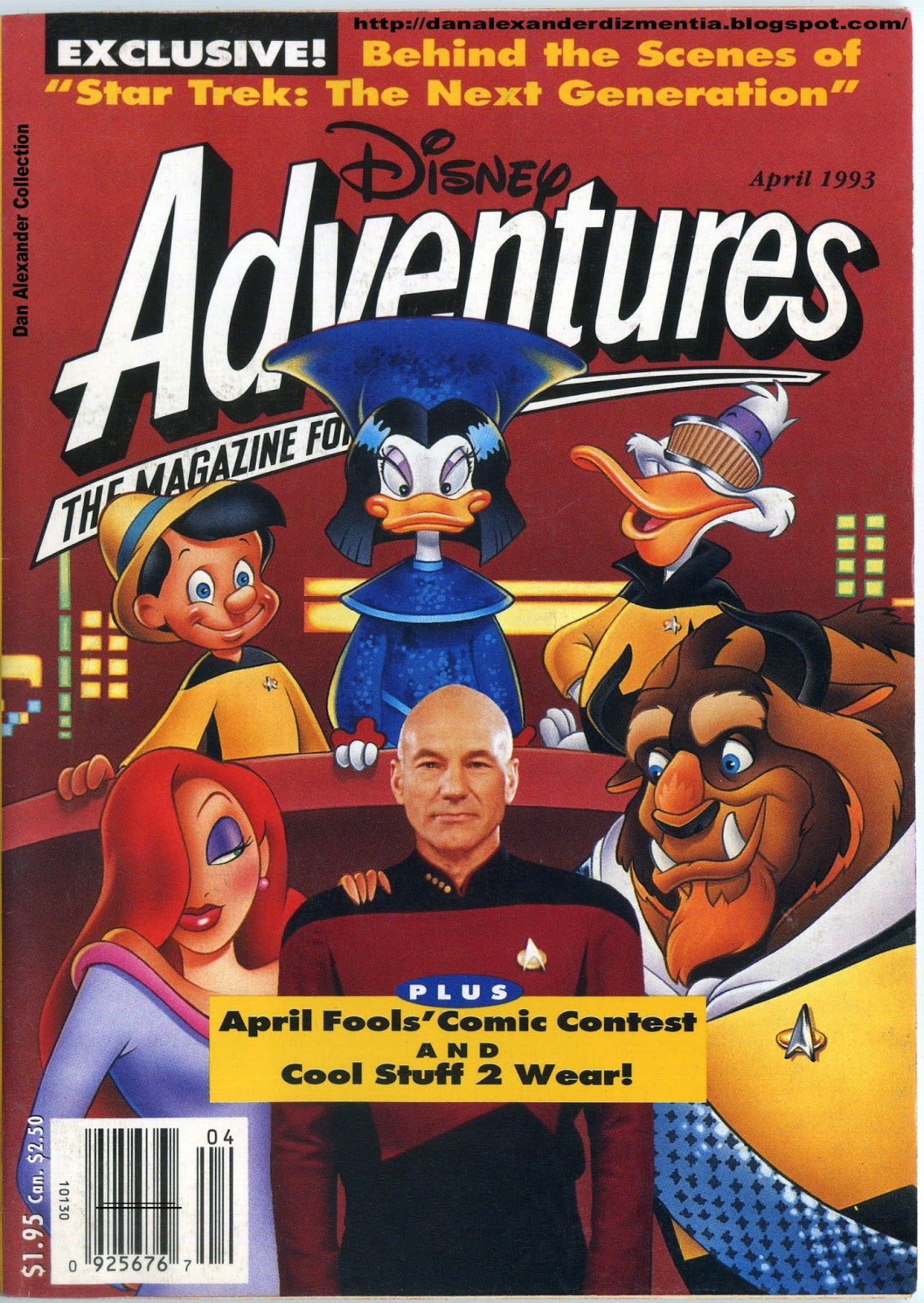 I DEFINITELY had this as a kid. Disney Adventures: getting your parents to pay for a magazine subscription that was really just a big Disney advertisement since 1990.