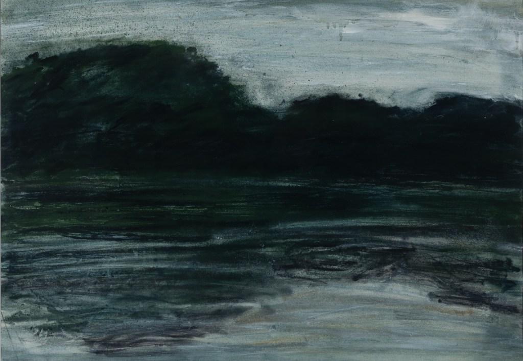 Run River Run 63 x 83cm oils & pastel on paper framed £450