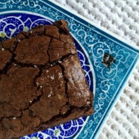 5-Ingredient Nutella Brownies