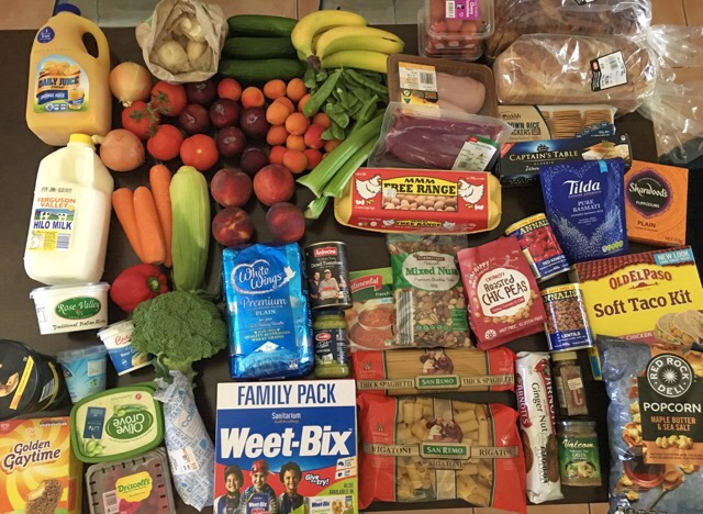 what's in a dietitian's trolley