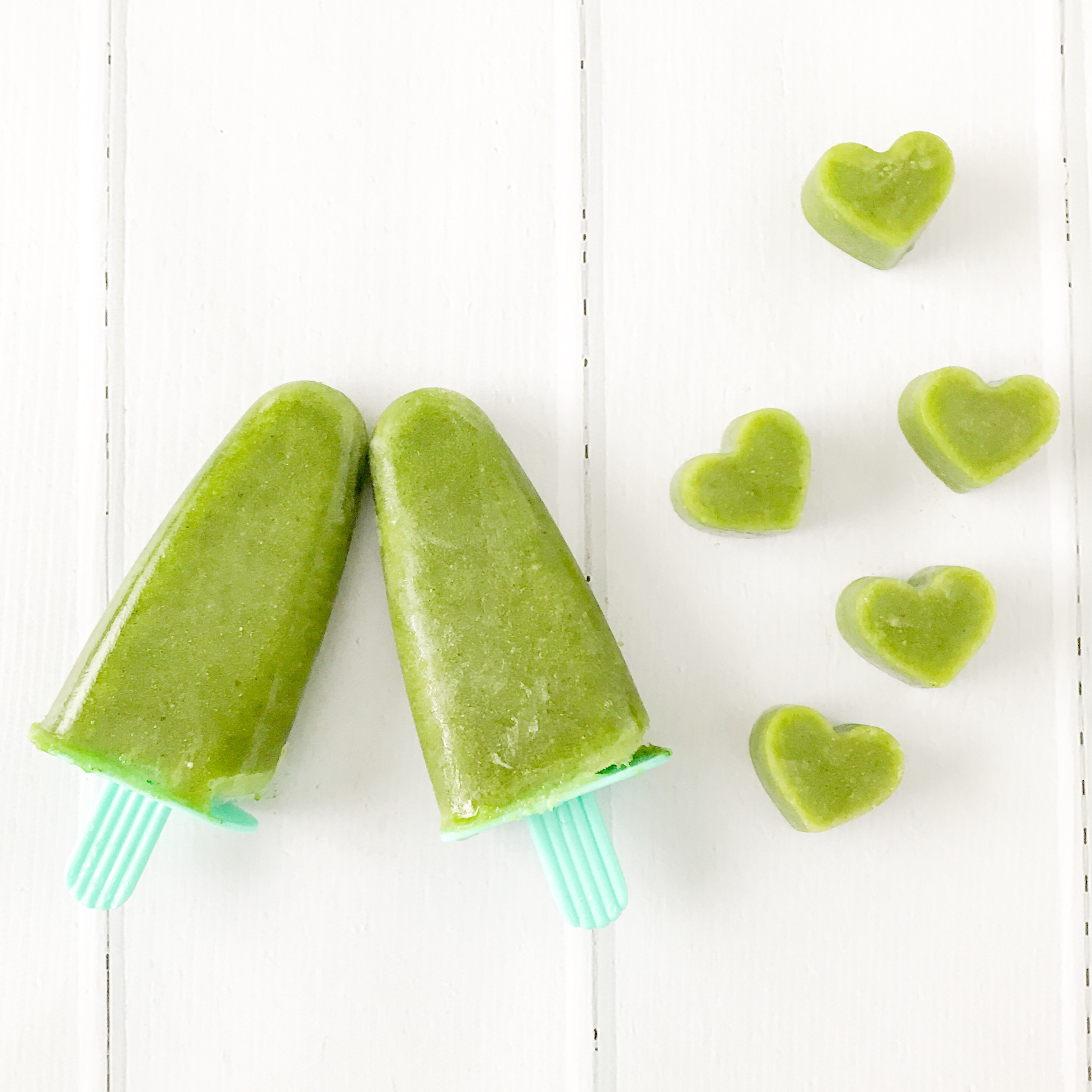 Green Smoothie Icy Pops