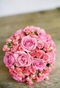 bridal, bouquet, bride