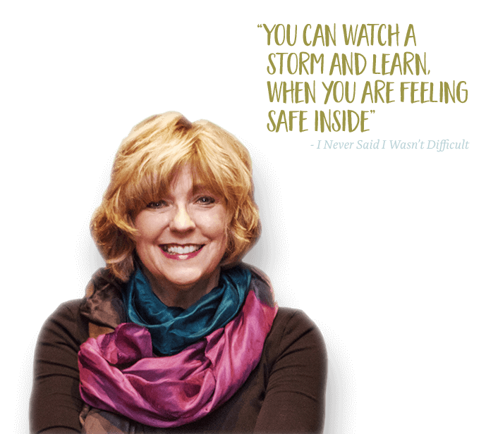 Sara with quote