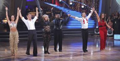 DWTS Finalists take a curtain call