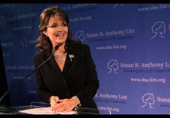 "Sarah Palin Speaks At ""Celebration Of Life"" Breakfast In Washington"