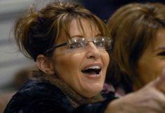 Closeup of Sarah smiling at Elmendorf book signing