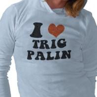 I Heart Trig Palin TShirt