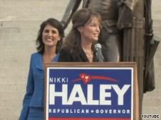 Sarah endorsing Nikki Haley in South Carolina