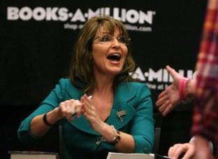 Sarah in Teal Jacket at Daytona Book Signing