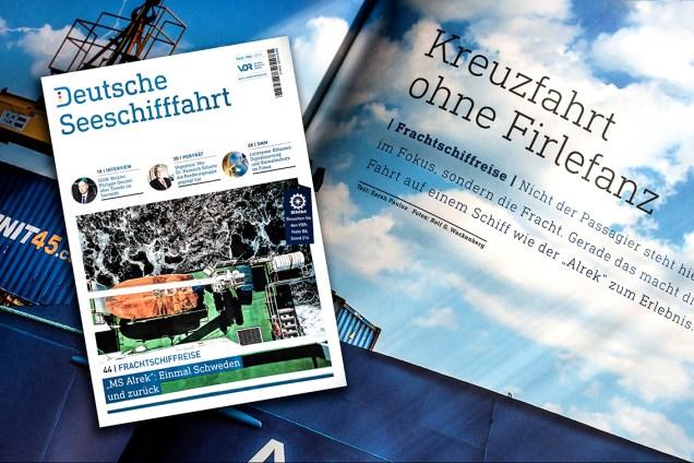 Deutsche Seeschifffahrt, Grafik: Rolf G. Wackenberg