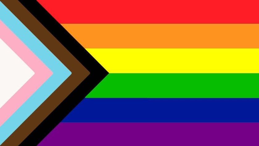 LGBTQA+ pride flag