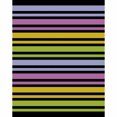 Digitally creatied stripe sequence