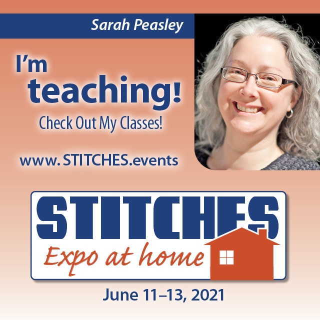 Stitches Expo at home: June 11-13 2021