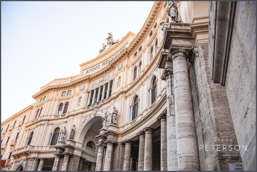 Galleria Umberto Naples Italy