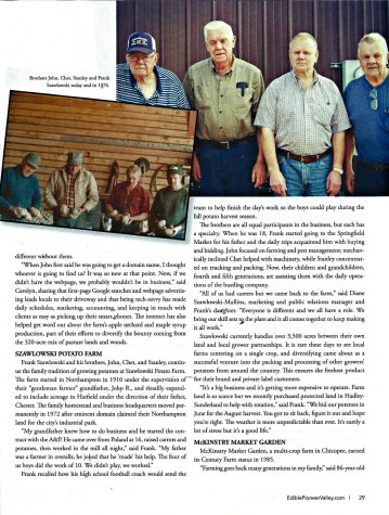 Edible Pioneer Valley Fall 2014 Century Farms Pg 2