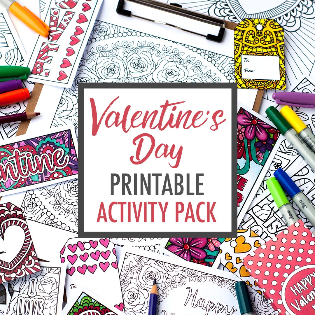 Valentine S Day Printable Activity Pack