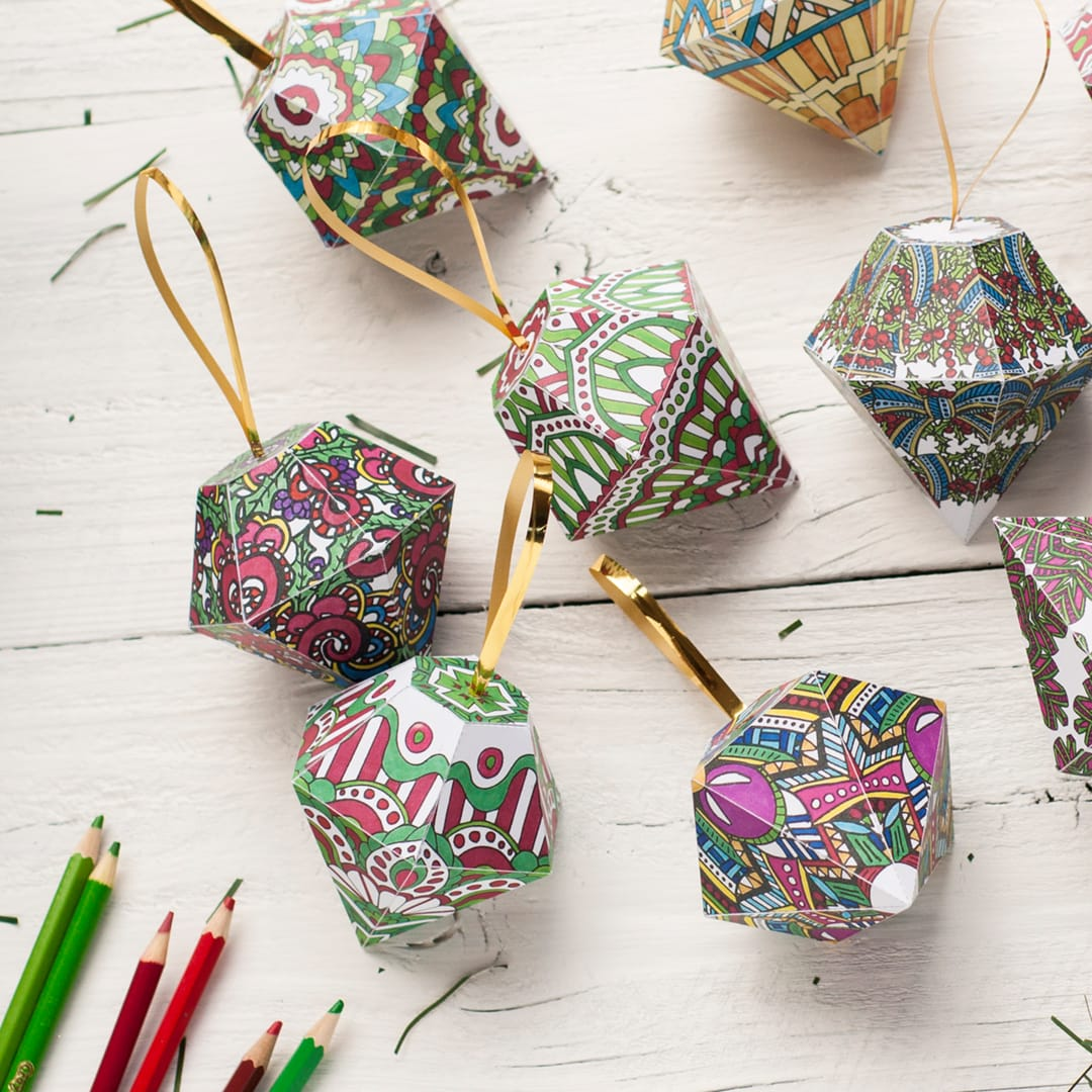 DIY Christmas Ornaments | 10 Pack - Sarah Renae Clark ...