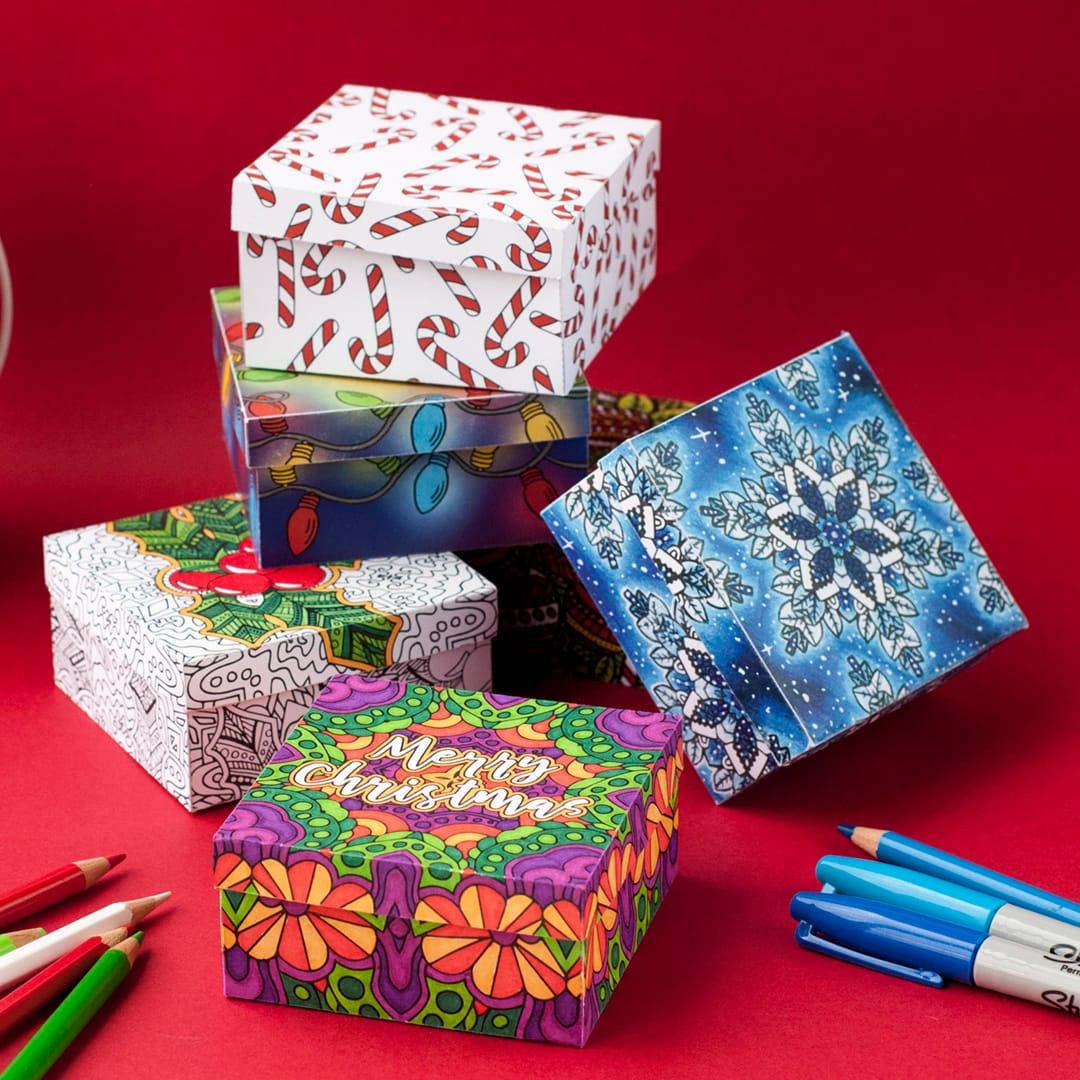Diy Christmas T Boxes
