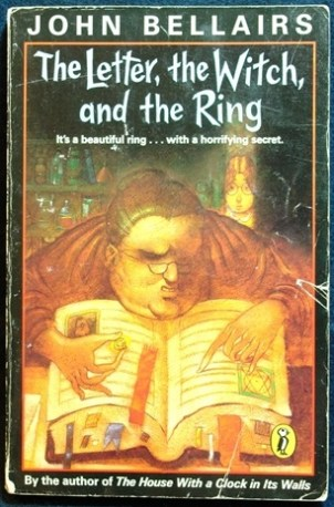 The book I foisted on anyone who would listen. (I love John Bellairs, if you haven't already READ HIM!)