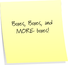 Post It Note Tuesday: More Random Thoughts