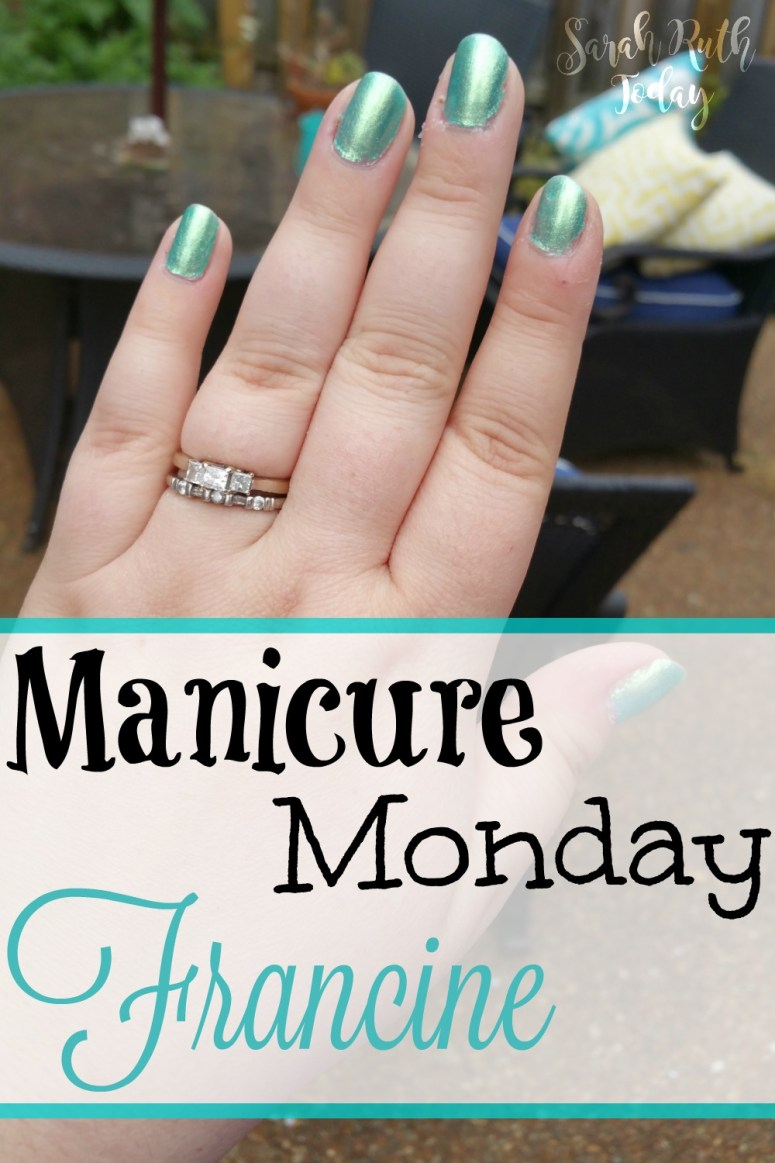 Manicure Monday Francine (Julep) I love this color! Reminds me of the Little Mermaid!