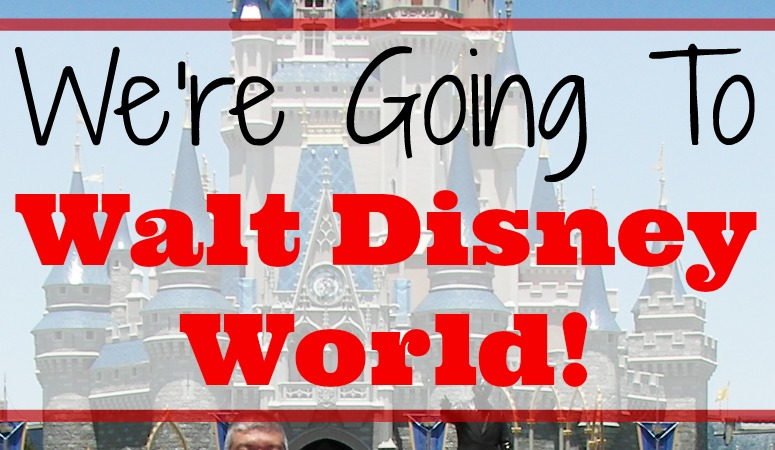 We're Going to Walt Disney World!