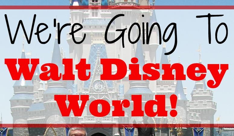 We're Going to Walt Disney World!
