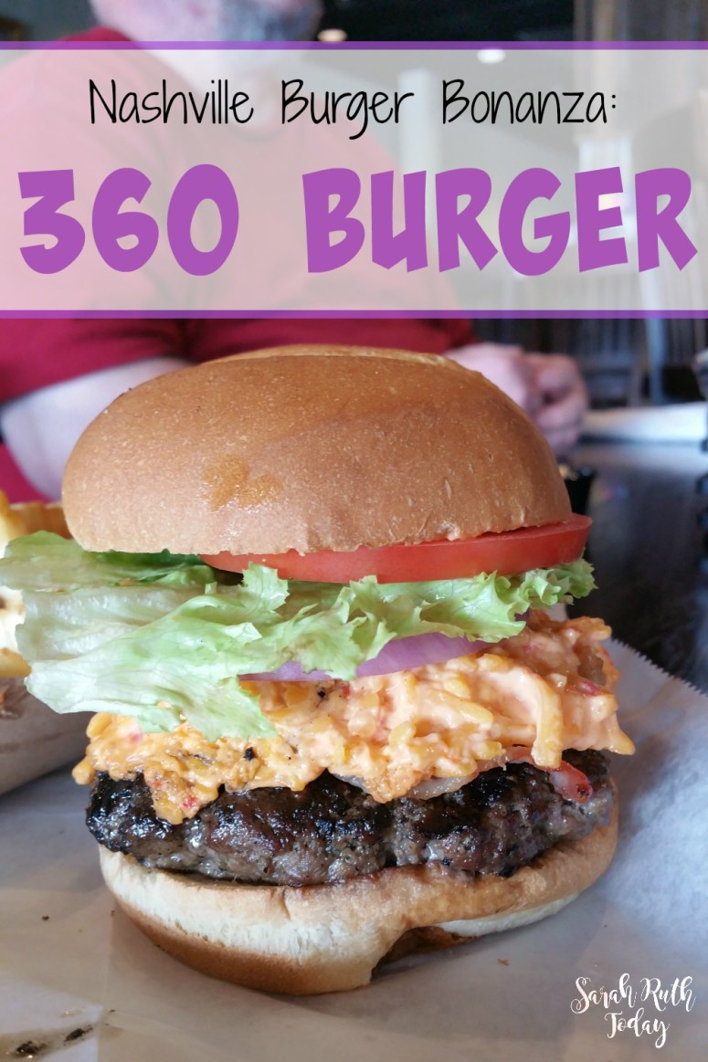 Nashville Burger Bonanza: 360 Burger - Wow. Look at that! It almost looks too good to be real.