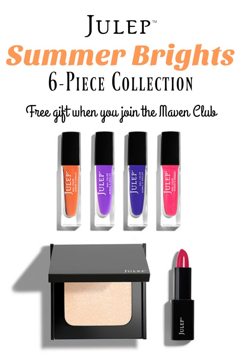 Julep Summer 2016 - Awesome free gift when you join the Maven club. To get more awesome nail polish and free stuff! Yes please!