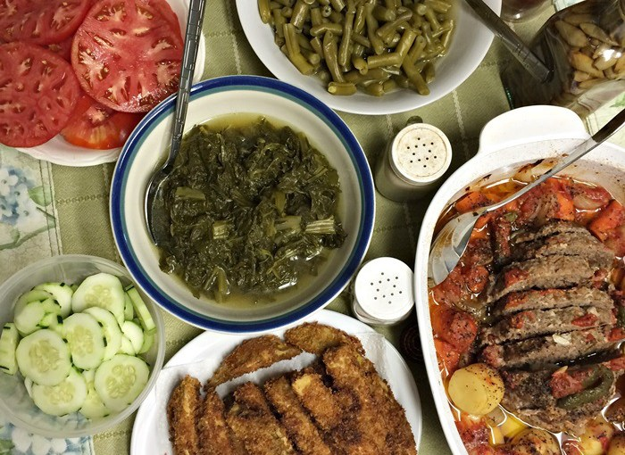 Reposted From Southern Hospitality: Dad's Southern Garden And Meatloaf Recipe