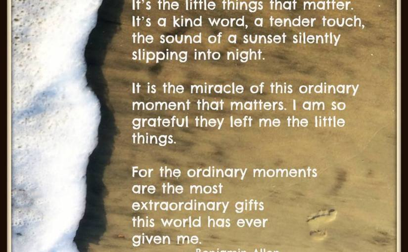 """Pay It Forward Friday – Be Thankful For The """"Little Things"""" We Take For Granted"""