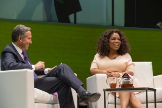 Does Oprah's Cup (Of Tea) Runneth Over?