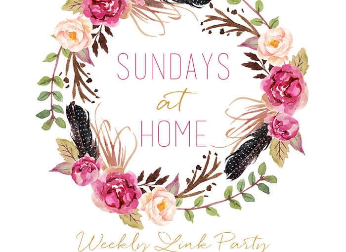 Sundays at Home Link Party – Meet Some Of The Bloggers Featured  -Christmas Foods, Decorating, HomeTours
