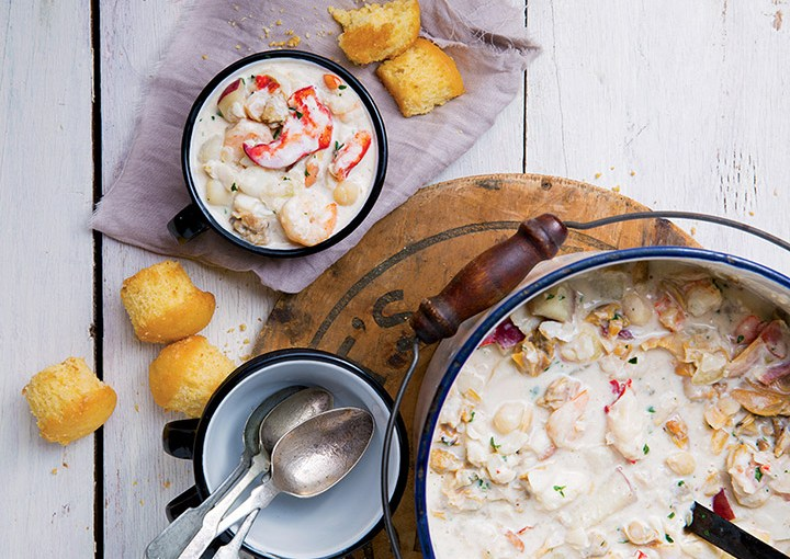 6 Favorite Chowder Recipes From New England Today : Food