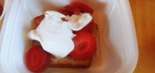 Strawberry Shortcake during the pandemic.