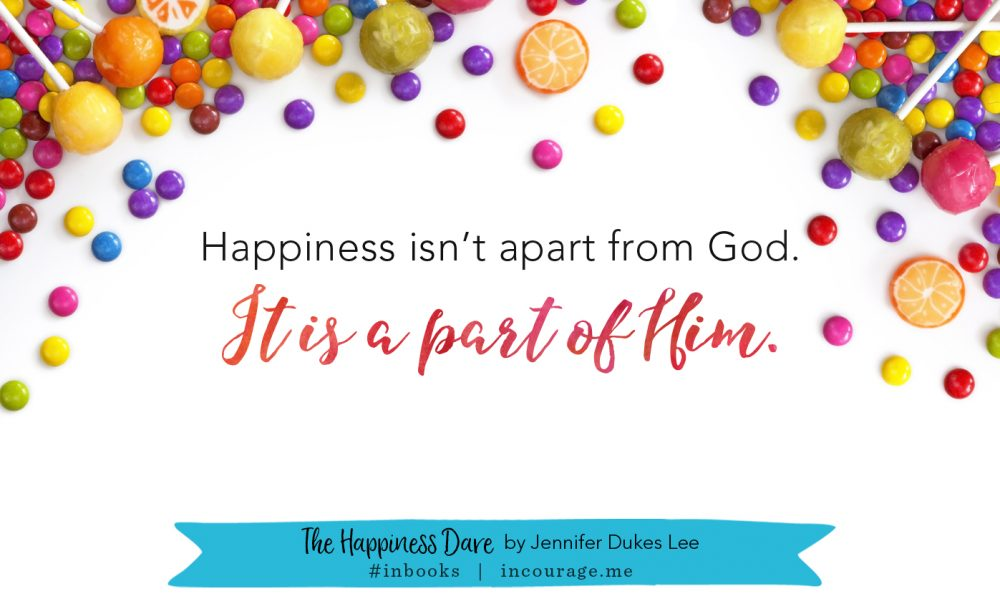 The Happiness Dare – (in)courage
