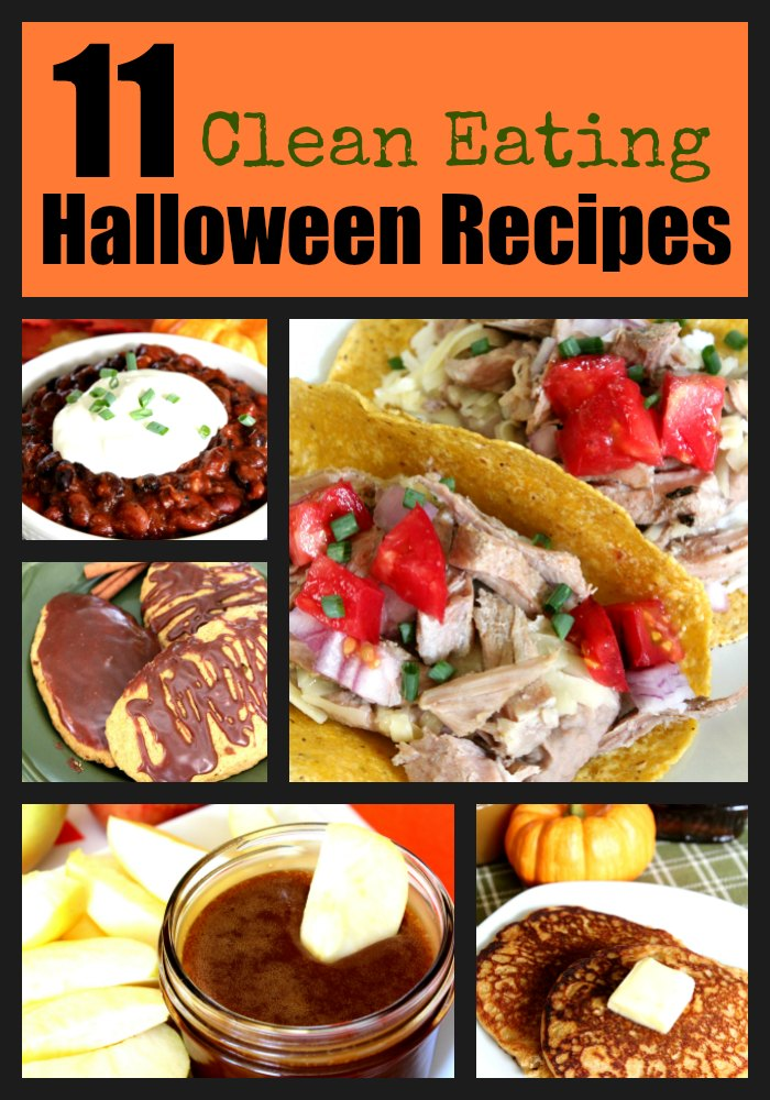 11 Clean Eating Halloween Recipes   Easy Peasy Life Matters