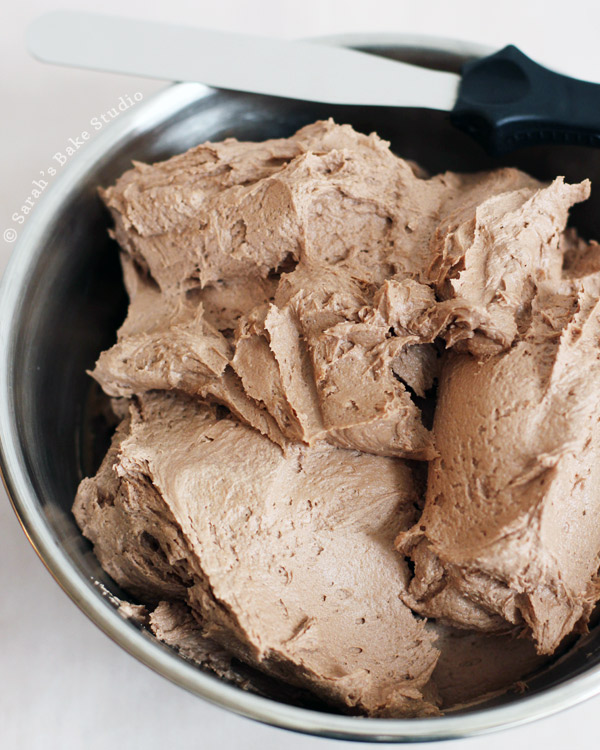 Chocolate American Buttercream