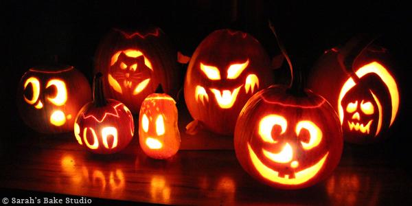 Pumpkin Snickerdoodle Truffles: Pumpkin Carving