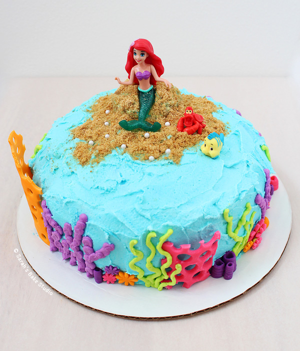 Little Mermaid Cakes Cupcakes 05a