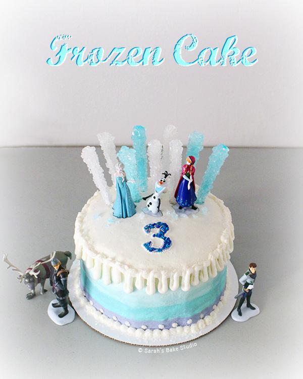 Frozen Cake Sarahs Bake Studio