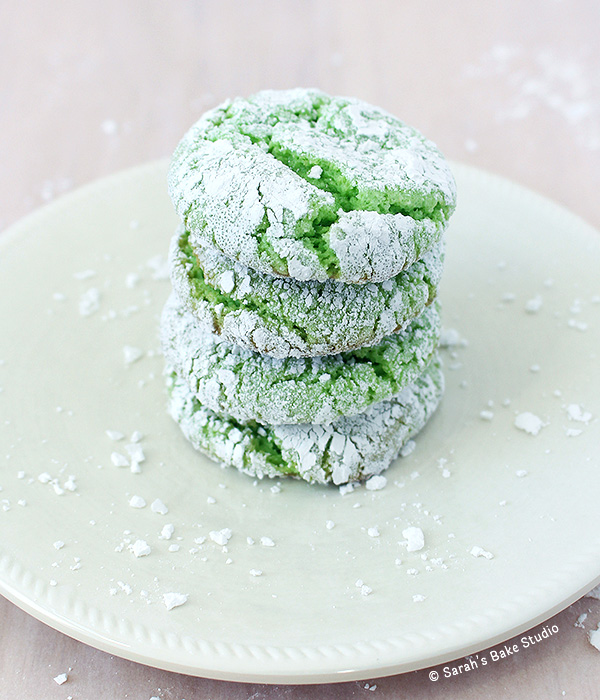 2015 Year in Review: Most Popular Recipes - Mint Crinkle Cookies