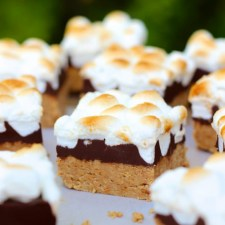 No Bake Peanut Butter S'more Bars from Your Cup of Cake