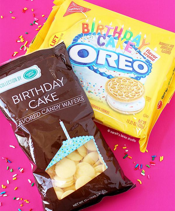 Birthday Cake Oreo Truffles