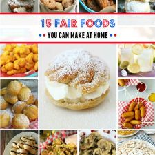 15 Fair Foods You Can Make At Home