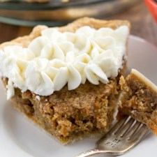 Carrot Cake Pie from Crazy for Crust