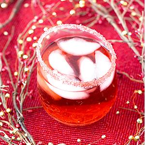 White Cranberry Pomegranate Fizz
