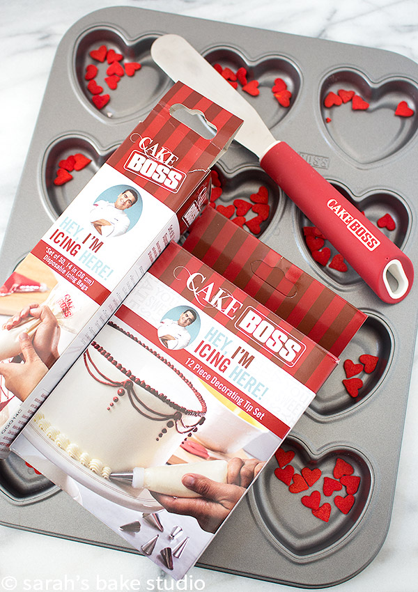 Heart Funfetti Cookie Cake Bars: Cake Boss Baking Giveaway